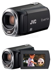 JVC Everio GZ-MS110B Camcorder with SD/SDHC Card Slot