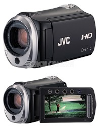 JVC Everio GZ-HM320B 8G and SD/SDHC card slot High-Def Camcorder