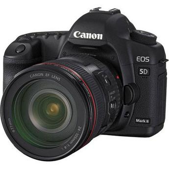 Canon EOS 5D Mark II Digital Camera Kit with Canon 24-105mm f/4L IS USM AF Lens