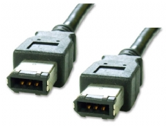 IEEE-1394 6-6 Pin Firewire Cable