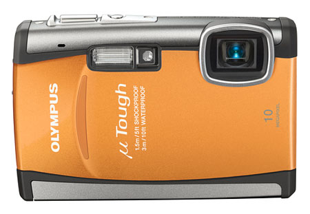 Olympus Stylus Tough-6000 Digital Camera (Orange)
