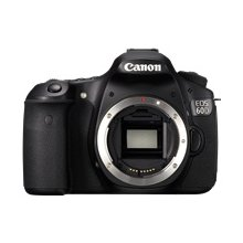 Canon EOS 60D 18MP Digital SLR Body - Black