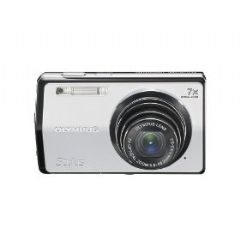 Olympus Stylus 7000 12MP Digital Camera with 7x Optical Dual Image Stabilized Zoom and 3-inch LCD (Silver)