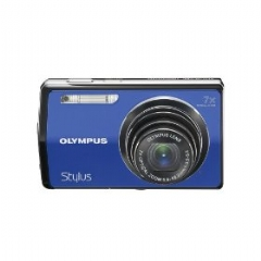 Olympus Stylus 7000 12MP Digital Camera with 7x Optical Dual Image Stabilized Zoom and 3-inch LCD (Blue)
