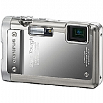 Olympus Stylus Tough 8010 14 MP Digital Camera - Silver