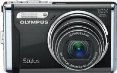 Olympus Stylus-9000 Digital Camera 12 MP/10x Optical Zoom/2.7-inch LCD (Black)
