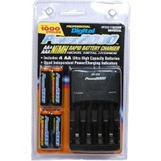 3100 Mah AA (NiMH) Batteries W/ Battery Charger