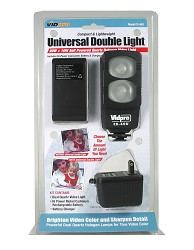 VidPro CX40U Compact and Lightweight Universal Double Light