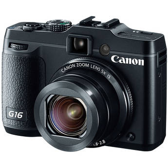 Power Shot G16 Point-and-Shoot Camera