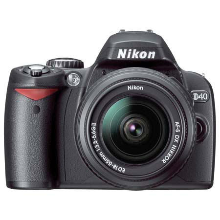 Nikon D40 6.1 Megapixel Digital SLR Camera
