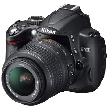 Nikon D5000 Digital SLR Camera (Camera Body)