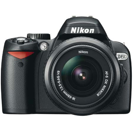 Nikon D60 10.2 Megapixel Digital SLR Camera Body