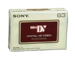 10 Pack 63 Minutes HD Mini Dv Cassette