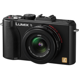 Panasonic Lumix DMC-LX5K, 10 Megapixel, 3.8x Optical Zoom Digital Camera (Black)