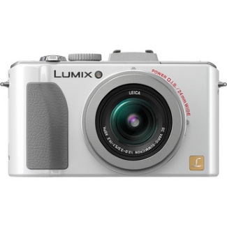 Panasonic Lumix DMC-LX5 10.1MP Compact Camera - White
