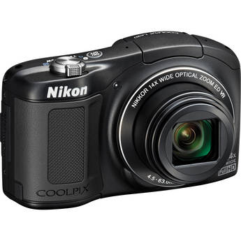 Nikon COOLPIX L620 Digital Camera (Black)
