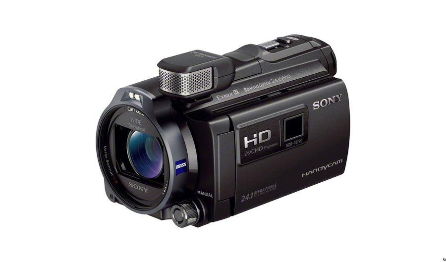 Sony 96GB HDR-PJ790 HD Handycam with Projector (Black)