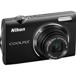 Nikon Coolpix S5100, 12.2 Megapixel, 5x Wide Optical Zoom Lens, 720p HD Video, Digital Camera - Black