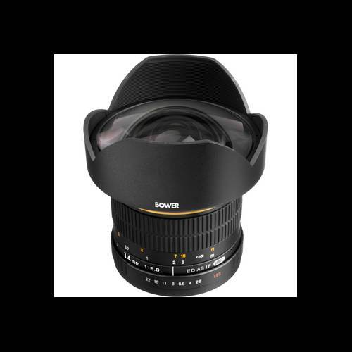 14mm f/2.8 Ultra Wide Angle Manual Focus Lens for Nikon Digital SLR Cameras