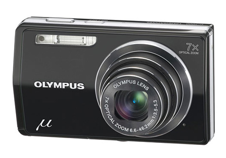 Olympus Stylus 7000 12MP Digital Camera with 7x Optical Dual Image Stabilized Zoom and 3-inch LCD (Black)