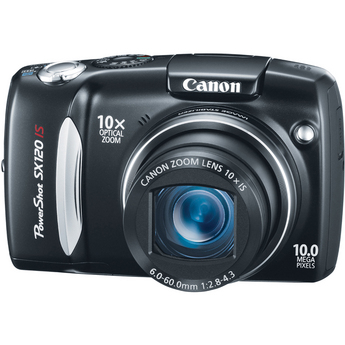Canon PowerShot SX120 IS Digital Camera