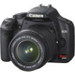 Canon EOS Rebel XSi (a.k.a. 450D) SLR Digital Camera Kit (Black) with 18-55mm IS Lens