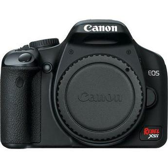 Canon EOS Rebel XSi Digital Camera (a.k.a. 450D) (Black) (Camera Body)