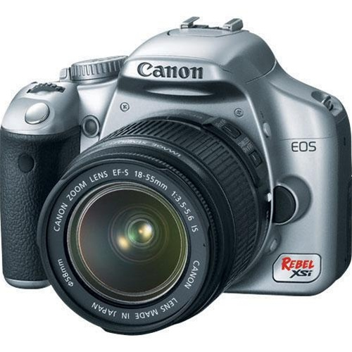 Canon EOS Rebel XSi Digital Camera (a.k.a. 450D) (Silver) (Camera Body)