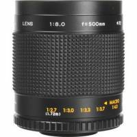 500mm f/8 Manual Focus Telephoto T-Mount Lens