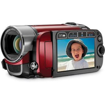 Canon FS200 Flash Memory Camcorder (Red)