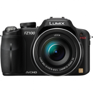 Panasonic DMC-FZ100 Digital Camera - Black