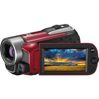 Canon Vixia HF-R10 Dual Flash Memory Camcorder - RED