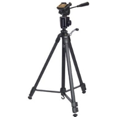 All-Metal Professional Tripod W/ Detachable 3-Way PanHead