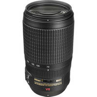 Nikon AF-S VR Zoom-NIKKOR 70-300mm f/4.5-5.6G IF-ED Telephoto Zoom Lens