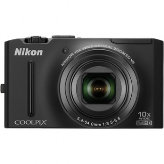 Nikon Coolpix S8100 12.1MP Digital Camera (Black)