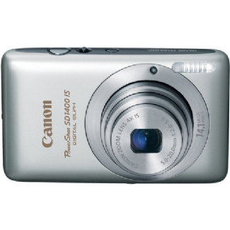 Canon PowerShot SD1400-IS, 14.1 Megapixel, 4x Optical/4x Digital Zoom, Digital Camera (Silver)
