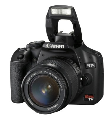 Canon EOS Rebel T1i Digital SLR Kit w/EF-S 18-55mm f/3.5-5.6 IS Lens