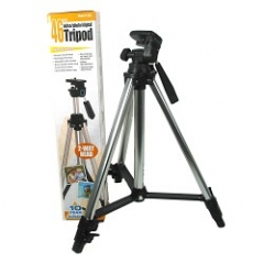 VidPro 46 inch Aluminum Video / Still Tripod with Two Way Head